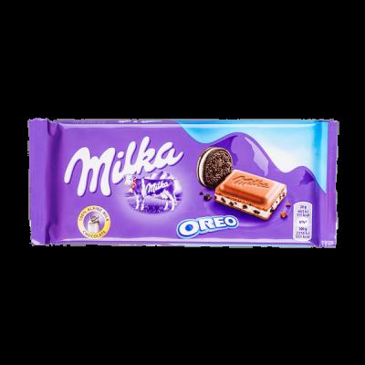 шоколад Милка Орео 100 г 1 уп.х 22 шт.