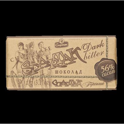 шоколад Спартак 56% Какао 90 г 1 уп.х 28шт.