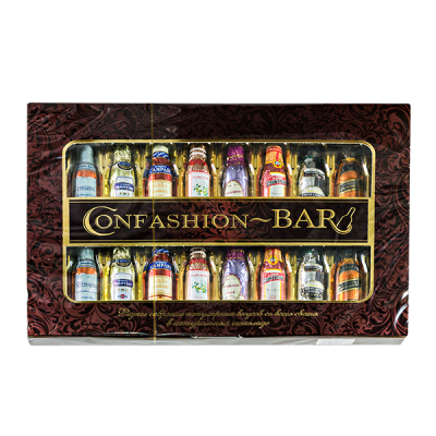конфеты BAR CONFASHION 240 г 1 уп. х 10 шт.