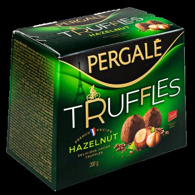 конфеты PERGALE TRUFFLES HAZELNUT 200 г 1 уп. х 16 шт.