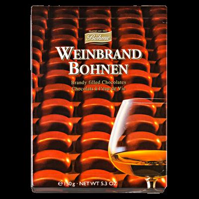 конфеты BOHME Weinbrand Bohnen со вкусом бренди 150 г 1 уп. х 14 шт.