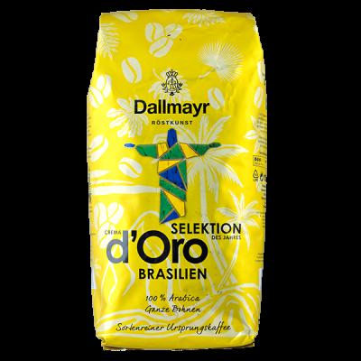 кофе DALLMAYR CREMA D'ORO SELECTION Brasilien 1 кг зерно 1 уп.х 8 шт.
