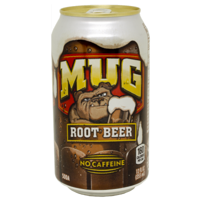 напиток MUG ROOT BEER NO CAFFEINE 355 МЛ Ж/Б