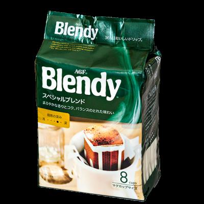 кофе AGF Blendy спешиал молотый фильтр-пакет 1 уп * 8 шт.