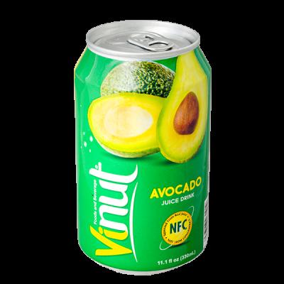 напиток VINUT Avocado 330 мл  Ж/Б 1 уп.х 24 шт.