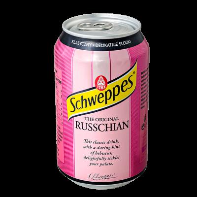 напиток SCHWEPPES RUSSCHIAN 330 МЛ Ж/Б 1 уп.х 24 шт.