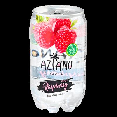 напиток AZIANO Raspberry 350 мл  П/Б 1 уп.х 24 шт.