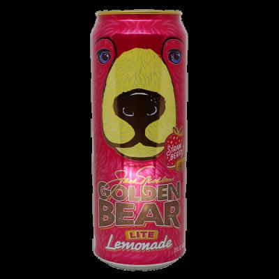 напиток ARIZONA Golden Bear Strawberry Lemonade 680 мл  Ж/Б 1 уп.х 24 шт.