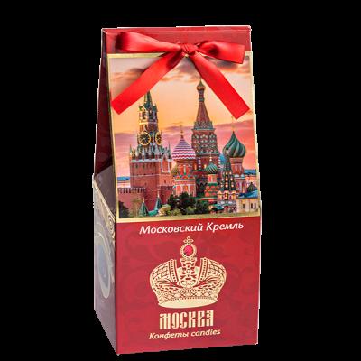 конфеты GRONDARD МОСКВА Кремль Темный марципан с гранатом 70 г 1 уп. х 9 шт.