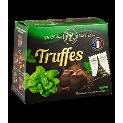 конфеты MATHEZ PoD'Aree Трюфель с мятным вкусом 160 г 1 уп.х 12 шт.