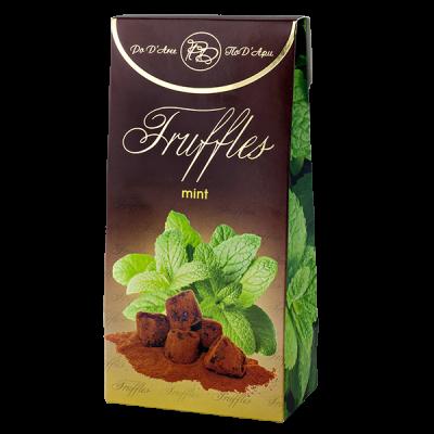 конфеты MATHEZ PoD'Aree Трюфель с мятным вкусом 160 г 1 уп.х 15 шт.