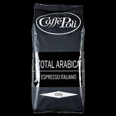 кофе Caffe Polli TOTAL ARABICA 1 кг зерно
