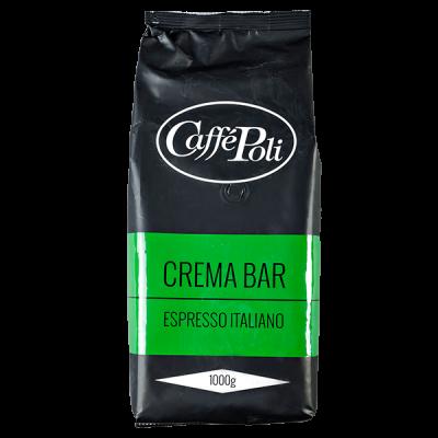 кофе Caffe Polli CREMA BAR 1 кг зерно