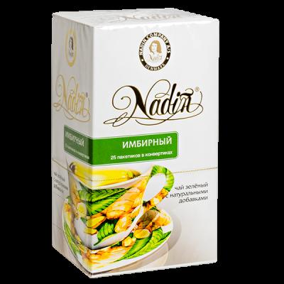 чай NADIN 'Имбирный' 25 пакетиков 1 уп.х 12 шт.