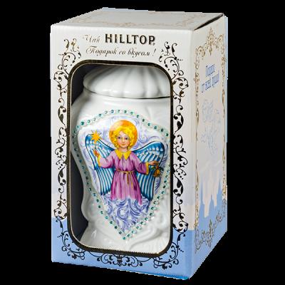 чай HILLTOP ЦЕЙЛОНСКИЙ БРИЗ керамическая чайница Ангел 100 г 1 уп.х 6 шт.