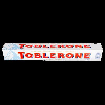 шоколад Тоблерон Белый с медово-миндальной нугой 100 г 1 уп.х 20 шт.