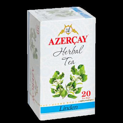 чай АЗЕРЧАЙ Липа 20 пакетиков с конвертом 1 уп.х 24 шт.