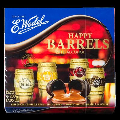 конфеты E.WEDEL BARRELS 200 г 1 уп.х 10 шт.