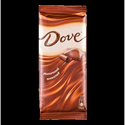 шоколад DOVE молочный 90 г 1 уп.х 16 шт.