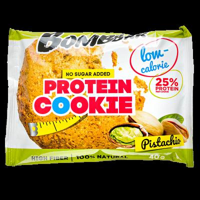 Печенье Bombbar протеиновое Pistachio 40 г 1 уп.х 12 шт.