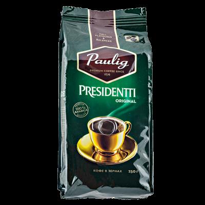 кофе PAULIG PRESIDENTTI ORIGINAL 250 г зерно 1 уп.х 12 шт.