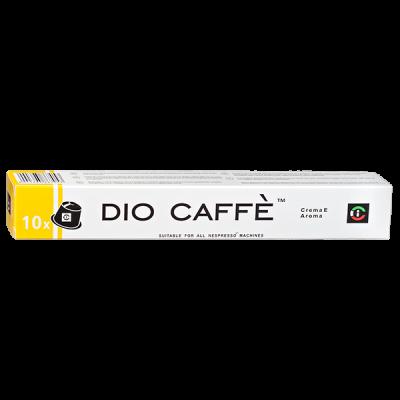 кофе капсулы DIO CAFFE CREMA E AROMA 1уп х  10 капсул