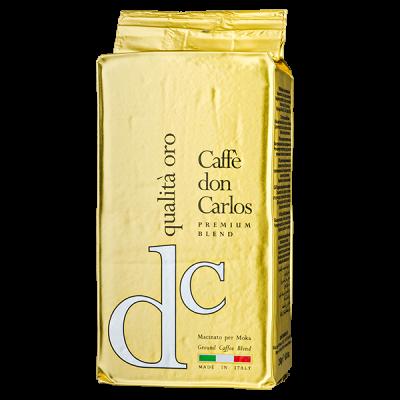 кофе CAFFE DON CARLOS QUALITO ORO 250г молотый 1 уп. х 20 шт.