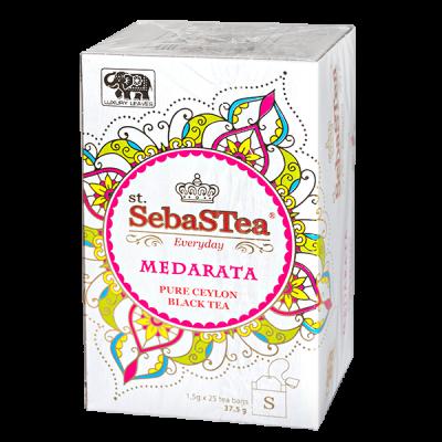 чай St.SebaSTea MEDARATA 25 пакетиков 1 уп.х 24 шт.