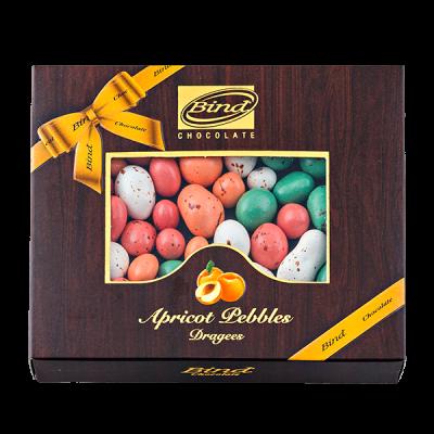 конфеты BIND CHOCOLATE Apricot Pebbles Dragees 100 г 1 уп.х 12 шт.