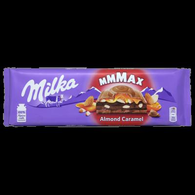 шоколад Милка Almond Caramel 300 г 1уп.х 12 шт.