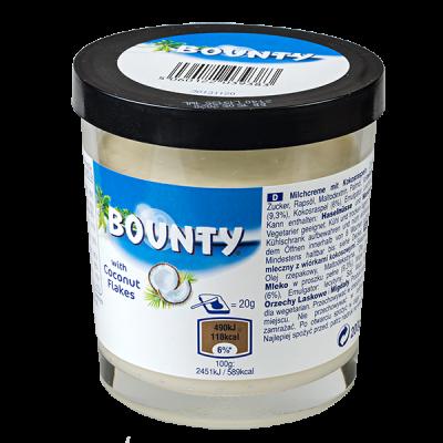 паста BOUNTY с кокосовыми хлопьями 200 г 1 уп.х 6 шт.