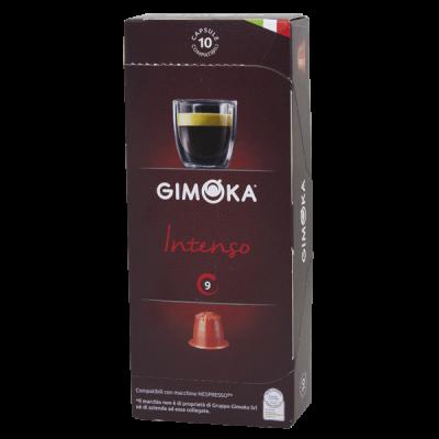 кофе капсулы GIMOKA INTENSO 1 уп х 10 капсул