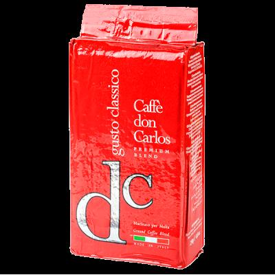 кофе CAFFE DON CARLOS GUSTO CLASSICO 250г молотый 1 уп. х 20 шт.
