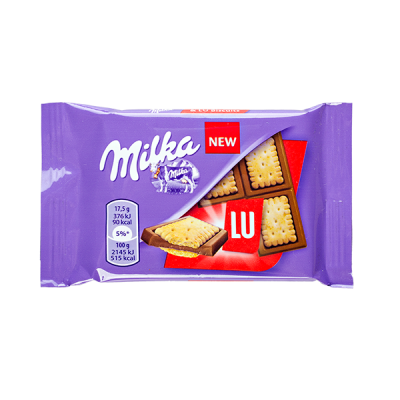 печенье Милка LU 35 г 1 уп.х 20 шт.