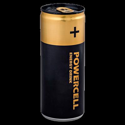 напиток POWERCELL energy drink 250 мл. 1 уп .х 24 шт. ж/б