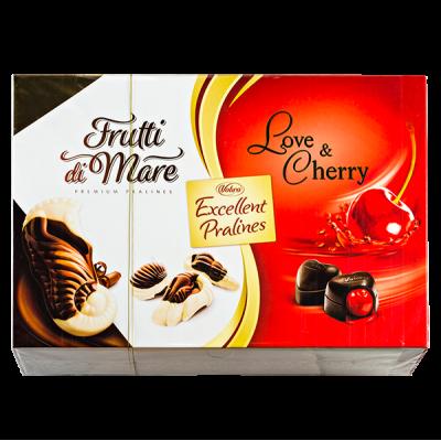 конфеты VOBRO набор EXCELLENT PRALINES 330 г 1 уп.х 6 шт.