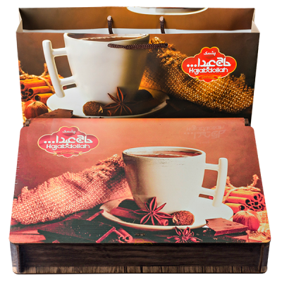 конфеты HAJABDOLLAH Pashmak Чашка кофе 500 г 1 уп.х 5 шт.
