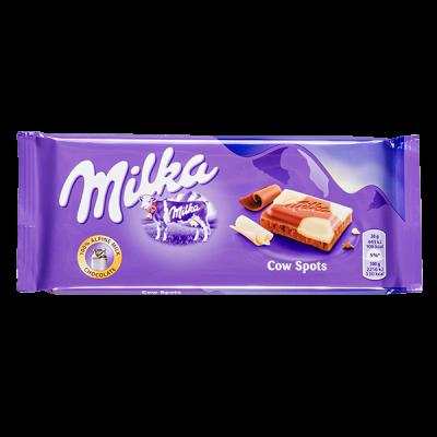 шоколад Милка Cow Spots 100 г 1уп.х 23 шт.