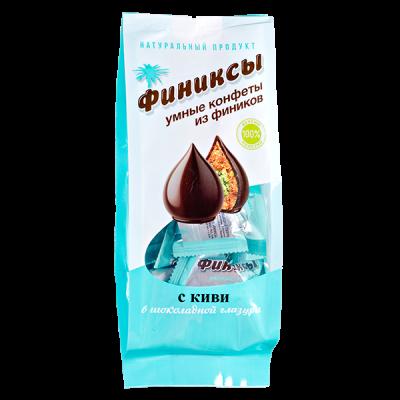 конфеты Финиксы с Киви в Шоколадной Глазури 180 г 1 уп.х 10 шт.