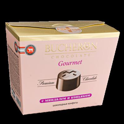 конфеты BUCHERON GOURMET с Миндалём и Коньяком 175 г 1уп.х 6 шт.