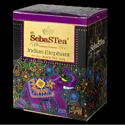 чай St.SebaSTea Indian Elephant 100 г 1 уп.х 24 шт.