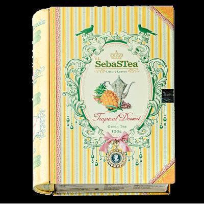 чай St.SebaSTea Tropical Dessert Книга ж/б 100 г 1 уп.х 6 шт.