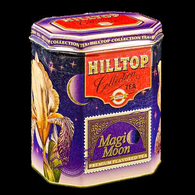 чай HILLTOP в подарочном восьмиграннике 'Волшебная луна' ж/б 200 г 1 уп.х 8 шт.