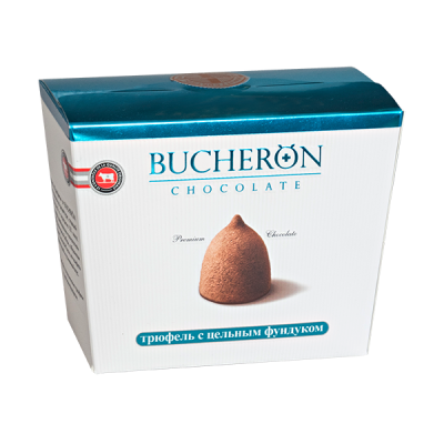 конфеты BUCHERON Трюфель 'Цельный Фундук 175 г 1уп.х 6 шт.