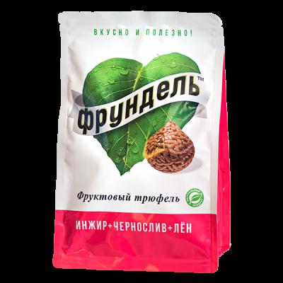 конфеты Фрундель Фруктовый трюфель с семенами льна 150 г 1 уп.х 8 шт.