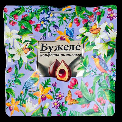 конфеты Бужеле Вишневые в Шок Глазури 180 г 1 уп.х 20 шт.