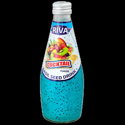 напиток BASIL SEED DRINK RIVA Cocktail 290 МЛ СТ/Б 1 уп.х 24 шт.