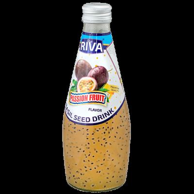 напиток BASIL SEED DRINK RIVA Passion fruit 290 МЛ СТ/Б 1 уп.х 24 шт.