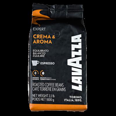 кофе LAVAZZA EXPERT CREMA & AROMA ESPRESSO 1 кг зерно 1 уп.х 6 шт.