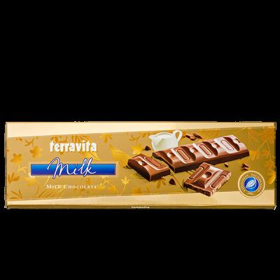 шоколад TERRAVITA молочный 225 г 1уп.х 9 шт.
